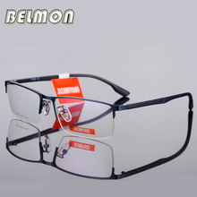 Spectacle Frame Eyeglasses Men Computer Optical Myopia Prescription Glasses Frame For Male Transparent Armacao Oculos de RS110(China)