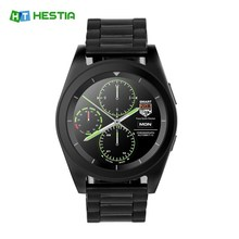 HESTIA Original G6 Smart Watch Bluetooth 4.0 Heart Rate Monitor Fitness Tracker Call SMS Reminder Remote Camera for Android iOS(China)