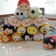 Tsum Tsum Mini Plush doll Cute Aladdin Princess Toy Cartoon Screen Cleaner Toy kids gift for birthday gift