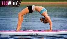 Yoga Surfing Stand up paddle board Women Yoga on Sup Board Surfboard Paddle board Surf board SUP Kayak Inflatable boat
