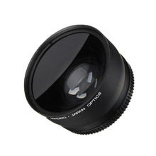 0.45x 58MM Wide Angle Macro Lens for Canon EOS 350D/ 400D/ 450D/ 500D/ 1000D/ 550D/ 600D/ 1100D Camera Lens(China)