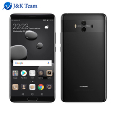 "Global Firmware Huawei Mate 10 Android 8.0 3D Curved Glass Dual Camera 20MP 5.9"" 2560*1440 Smartphone Kirin970 Octacore 2.36GHz"