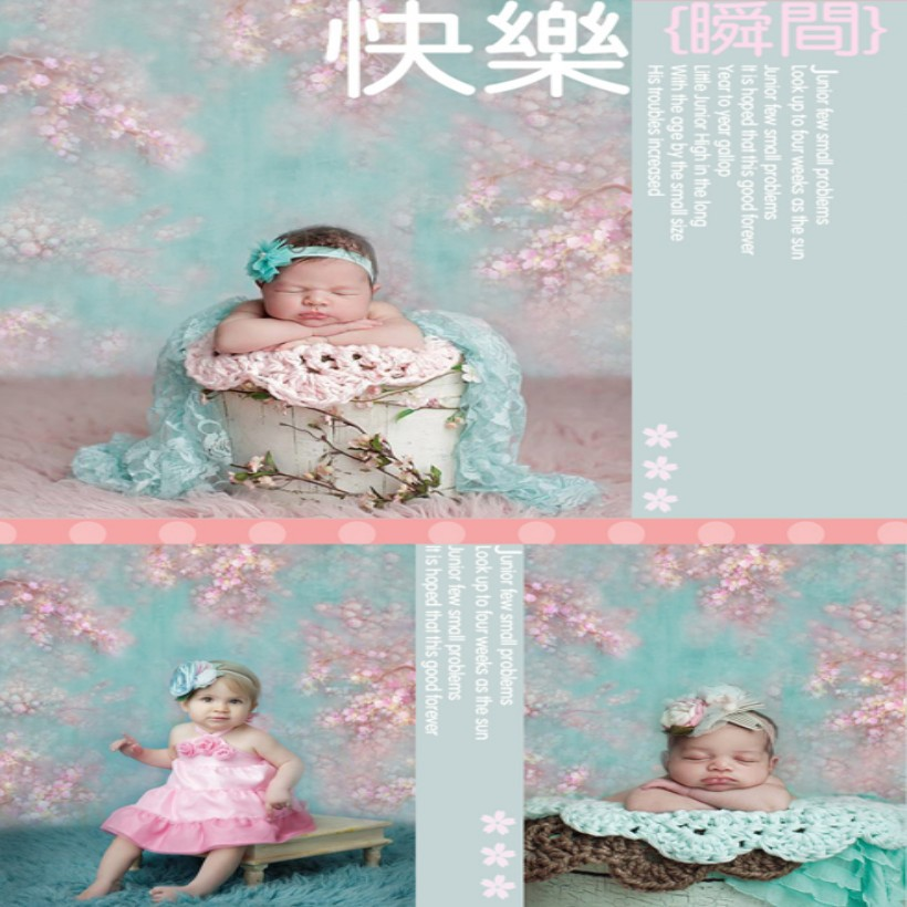 backgrounds newborn props and backdrops flower photography background baby for photo studio S101<br><br>Aliexpress