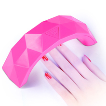 New fashion Nail mini led light therapy machine fast roasted nail polish drying device USB nail rainbow lights nail lamp