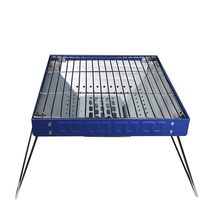APG Portable Folding Barbecue Stove Outdoor Camping Charcoal BBQ Grill Household Carbon Oven for 6-8 Person(China)