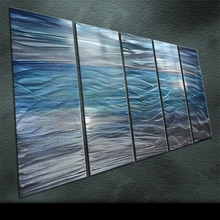 Original  Classic Metal Art Abstract  Wall Painting Unique phough through /Far sail Sculpture Indoor Outdoor Decor