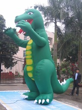30' Giant Inflatable Godzilla w/fan Advertising MOST POWERFUL tech(China)