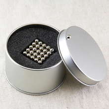 1 set (216pcs+6PCS) 5mm  balls Magic magnetic  N50 new high-performance neodymium magnet  N50 + free  bag