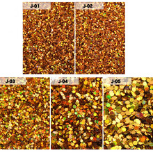 2g/box Nail Art Glitters Laser Gold Magic Mirror Powder Holo Flakes Round Sequins DIY Design Dust 3d Manicure Decorations 2017