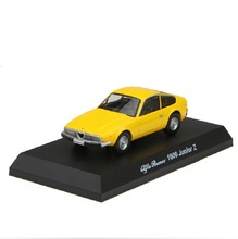 Kyosho 1:64 Alfa Romeo1600 Junior Z red/yellow/sliver Diecast metal model cars