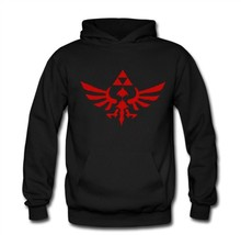 The Legend Of Zelda Hoodies Anime Zelda Triforce Hoody Sweatshirts Men Nintendo Holy Triangle  Fleece Hooded Jumpers  Pullover
