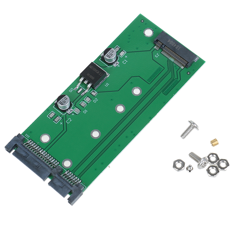 Laptop SSD NGFF M.2 To 2.5Inch 15Pin SATA3 PC converter adapter card with screws