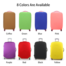 Luggage Protective Cover Candy Color For 18-30 inch Trolley suitcase Elastic Dust Bags Case Travel Accessories Supplies S6063