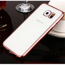 Luxury Coque Fundas Plating TPU Case For Samsung Galaxy S5 S6 S7 Edge S8 Plus J3 J5 J7 A3 A5 A7 Grand Prime Soft TPU Caso Cover