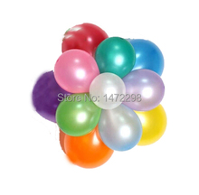 "100pcs Wedding Party 10"" Latex Balloon Christmas Halloween NewYear Ballon Choices Free Shipping"