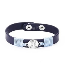 6pcs/lot! Wholesale Jewelry Adjustable Sport Team Tampa Baseball Charm Bracelet Fahion Custom Wristband Cuff For Women Men