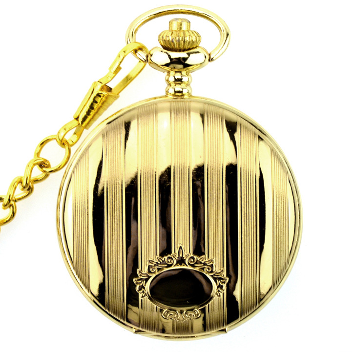 Fashion-Modern-High-Quality-Silver-Quartz-Pocket-Watch-With-Pendant-Chain-Men-Womens-Watches-Gift (5)