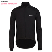 2016 Best BLACK LIGHTWEIGHT PRO TEAM CYCLING WINDPROOF JACKET LONG SLEEVE WIND BREAK JERSEY packable for Convenient to carry