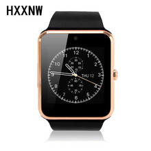 Original GT08 smart watch Clock Sync Notifier with Sim Bluetooth Smartwatch for Apple IOS xiaomi Samsung Android Phone PK DZ09(China)