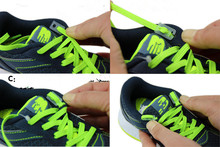 New Arrival Free Shipping Colorful Locking Shoe Laces Elastic Shoelaces Shoestrings Running/Jogging/Triathlon/Sports Fitness