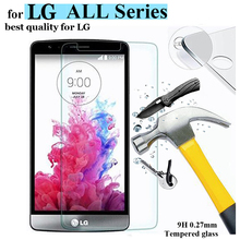 Screen Protector for LG G3 G4 Mini Stylus 9H 2.5D Tempered Glass for LG magna G4C Leon V10 Nexus 5 Spirit Protective Film Cover(China)