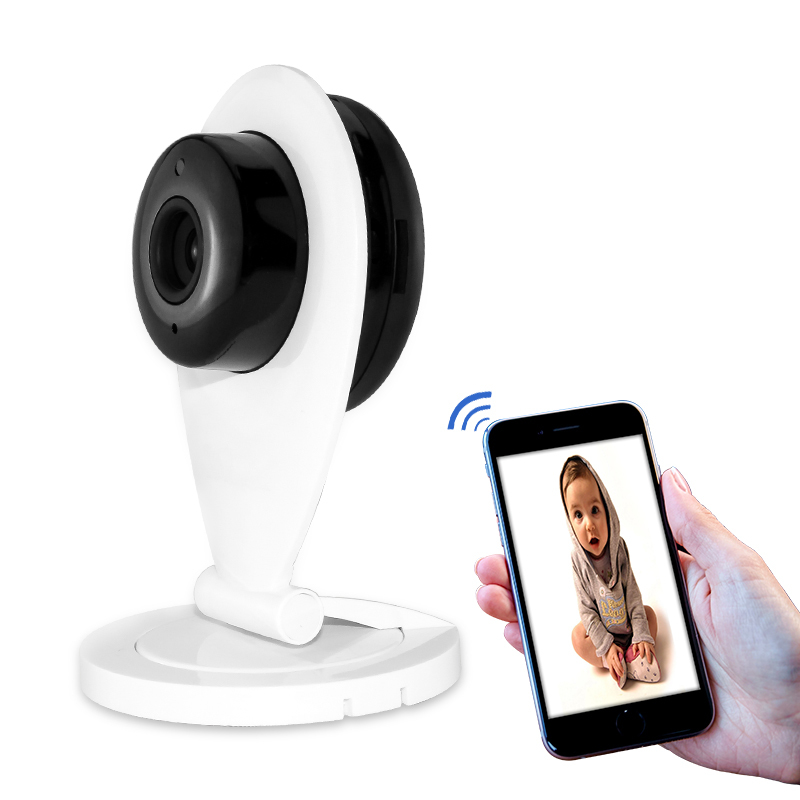 Wireless 720P HD Mini Wifi IP Camera Smart P2P Baby Monitor Network CCTV Security Camera Home Protection Mobile Remote Cam<br>