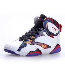 2017 new men Basketball Shoes women sport lover outdoor kids air Athletic high ankle basket boots Anti slip plus size 9 10 11 12