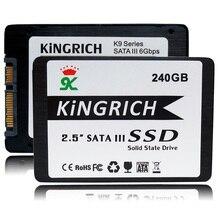 Новый Kingrich MLC SSD 240 ГБ Диски 6 Гбит/2.5 SATA III 256 ГБ 128 ГБ Твердотельный Жесткий Диск Бесплатная Доставка