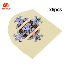 For Electric Acoustic Guitar Fret 20Pcs Nice  Guitar Fretboard Inlay stickers Wreath Imitation Abalone Guitar Neck Marker