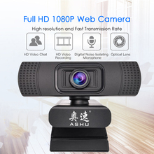 USB 2.0 Web Digital Camera Webcam Full HD 1080P Webcams with Microphone Clip-on 2.0 Megapixel CMOS Camera Web Cam for Computer(China)