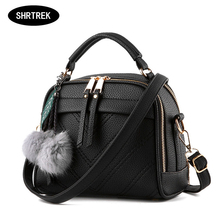 2017 Women Messenger Bag bolsa feminina bolso mujer Leather Shoulder Bag Saddle Crossbody Bags for Women(China)