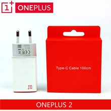 Original ONEPLUS 2 Charger 5V/2A USB Adapter Wall Charger OnePlus Two 100cm/150cm Type C CABLE Charge charger one plus 2