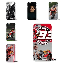 For Huawei G7 G8 P8 P9 Lite Honor 5X 5C 6X Mate 7 8 9 Y3 Y5 Y6 II For Marc Marquez Moto Gp 93 Soft Silicone Case(China)