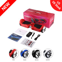 CHIC Smart-K2 Children Two Wheels Self Balancing Electric Scooter Gyro Skateboard Hoverboard with LED Light Best Gift for Kids(China)