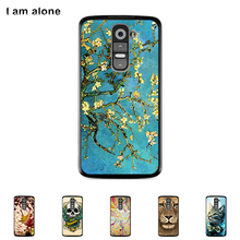 Hard Plastic Case For LG G2 D801 D802 5.2 inch Cellphone Cover Mobile Phone Protective Skin Color Paint Bag Shipping Free