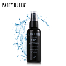 Party Queen Setting Spray Make Up 60ml Fix Mist Base Foundation Makeup Long-Lasting Matte Finish Quick Dry Natural Cosmetic Tool(China)
