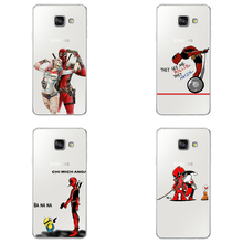 Super Funny Cool Marvel  Harley Quinn and Deadpool Cover Case For Samsung 2016 J5  Cell Phone Cases Capa For Samsung S7 S8 A5