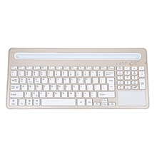 Hot Sale High Quality Slim Wireless Bluetooth Keyboard with Multi-touch Touchpad for Ipad Android Laptop Computer Dec4