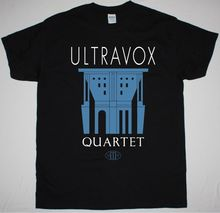ULTRAVOX QUARTET BLACK T SHIRT NEW WAVE SYNTHPOP ART ROCK VISAGE SOFT CELL Newest 2017 Fashion Stranger Things T-Shirt Men