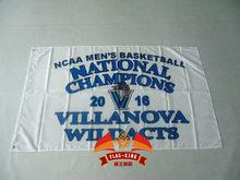NCAA MEN'S BASKETBALL NATIONAL CHAMPIONS 2016,90*150cm POLYESTER FLAG(China)