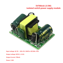 Smart Electronics 5Pcs 5V700mA (3.5W) Isolated Switch Power Supply Module AC-DC Buck Step-down Module 220V Turn 5V(China)