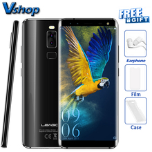 Original LEAGOO S8 4G Mobile Phones Android 7.0 3GB RAM 32GB ROM Octa Core Smartphone 4 Cameras Dual SIM 5.72 inch Cell Phone(China)