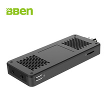 Hot Bben windows10 os quad core intel Apollo Lake N3350 3g/64g ram/rom frenquency 1.1-2.4GHz desktop stick pc computer(China)