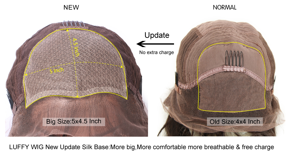 silk base-lace front wig cap -2