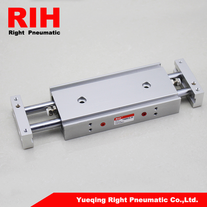 Right Pnematics double rods Cylinder CXSW15x30<br>