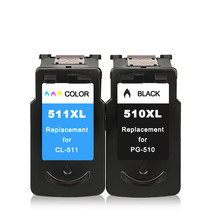 PG510 CL511 Ink Cartridge Replacement For Canon PG 510 Pg CL 511 MP240 MP250 MP260 MP270 MP280 MP480 MP490 IP2700