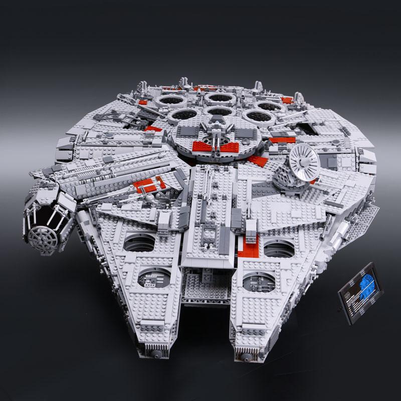 LEPIN-05033-5265Pcs-Star-Wars-Ultimate-Collector-s-Millennium-Falcon-Model-Building-Kit-Blocks-Bricks-DIY