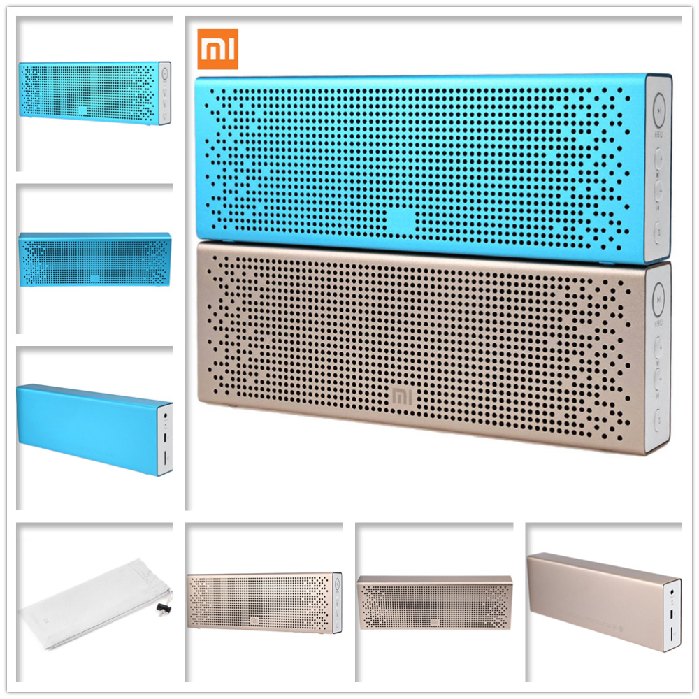 Original Xiaomi Bluetooth 4.0 Speaker Mini Portable Wireless Loudspeaker Stereo Sound Box for iPhone 6S Plus iPad Pro Mp3 Usb<br><br>Aliexpress