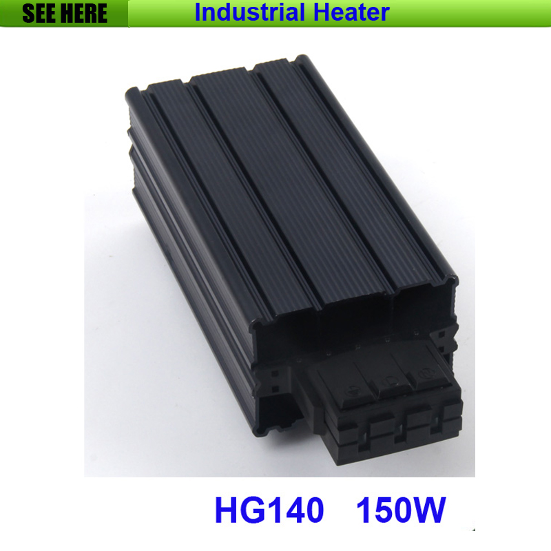 Free Shipping 150w Industrial Cabinet Heater PTC Sermiconductor Heater 35mm Din Rail Type Heater Together With Thermostat<br>