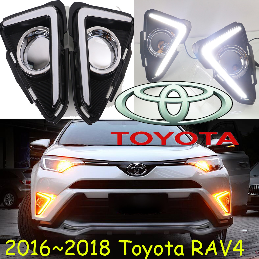 2013~2018year RAV4 day light,led,Free ship!2pcs/set,RAV4 fog lmap;car-covers,RAV4,Echo,avalon,avensis,cressida,granvia,RAV 4<br>